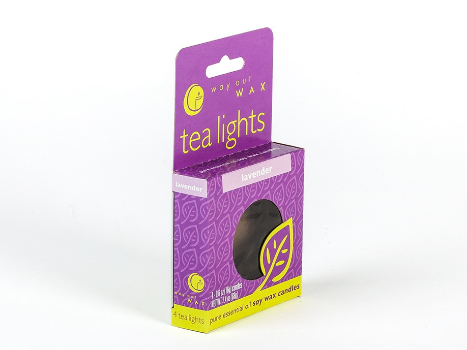 lavender tea lights soy wax candles