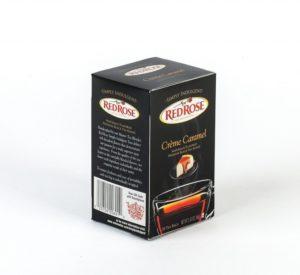 Red Rose Creme Caramel Tea