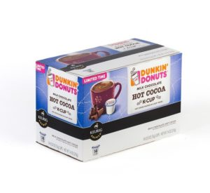Dunkin Donuts Milk Chocolate Hot Cocoa Keurig K Cup