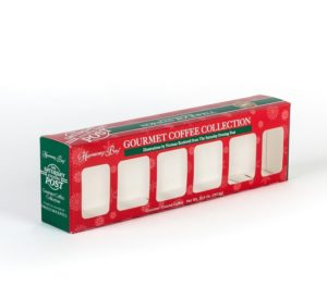 Gourmet Coffee Collection Red And Green Box