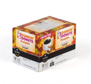 Dunkin Donuts Pumpkin Keurig K Cup