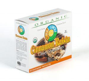Full Circle Organic Cinnamon Raisin Chewy Granola Bars