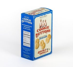 Orton Bros Cookie Buttons Double Vanilla