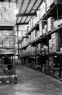 rice packaging warehouse